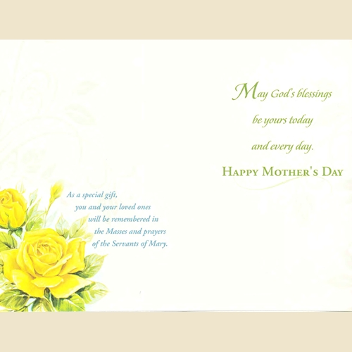Mother/'s Day card American greeting m15